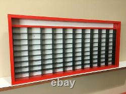 Display case cabinet for 1/64 diecast scale cars (hot wheels, matchbox) 91n2CN