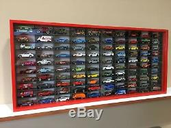 Display case cabinet for 1/64 diecast scale cars (hotwheels, matchbox) 100N3C