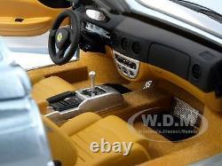 Elite Ferrari 360 Modena Spider Italian Job Movie Blue 1/18 By Hotwheels P9905