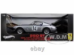 Ferrari 250 Gt #14 Berlinetta Passo Corto Lemans 1961 Elite 1/18 Hotwheels W1181