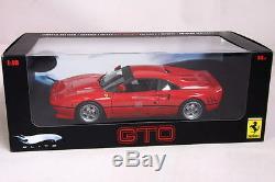 Ferrari 288 Gto Red Hot Wheels Elite Very Rare Last One Discontinued New In Box