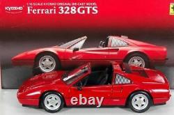 Ferrari 328 GTS Kyosho rot/red 1/18 #8183K rare no AutoArt HotWheels 308 GTB GT4