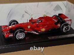 Ferrari F2007 Kimi Raikkonen 2007 #6 Hotwheels N4658 118