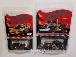 HOT WHEELS 2019 RED LINE CLUB RLC COLLECTION with NISSAN SKYLINE & CHEVY GASSER