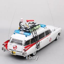 Hot Wheels 118 Cadillac Ghostbusters Ecto-1 1959 Diecast Model Car Fully Open