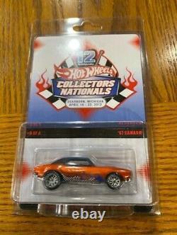 Hot Wheels 12th Annual Collectors Convention 67 Camaro #01110/02000