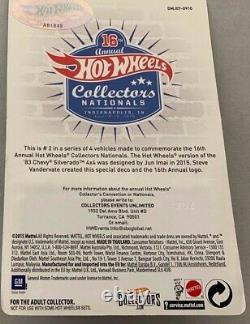 Hot Wheels 16 Annual Collectors Nationals 83 Chevy Silverado 4x4x