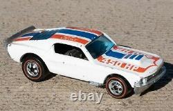 Hot Wheels 1974 White Mustang Stocker Redline 450hp