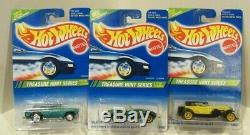 Hot Wheels 1995 Treasure Hunt J. C. Penney Set of 12 with'67 Camaro All Original