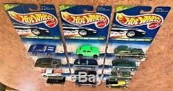Hot Wheels 1995 Treasure Hunt Series 1-12 Unopened Complete Set with'67 Camaro