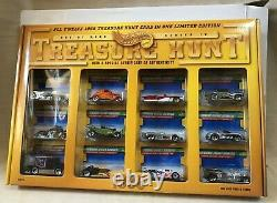 Hot Wheels 1998 J C Penney Treasure Hunt 12 Cars Sealed NRFB & Shipping Box