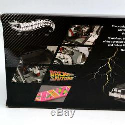 Hot Wheels 1/18 Elite Back To The Future Time Machine Diecast Edition BCJ97