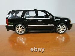 Hot Wheels 1/18 Rare Black Cadillac Escalade Used Nice Issue No Box