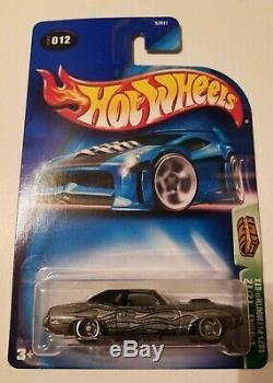 Hot Wheels 2003 Treasure Hunt Silver Cuda Super Rare Plymouth Gtx With Acrylic