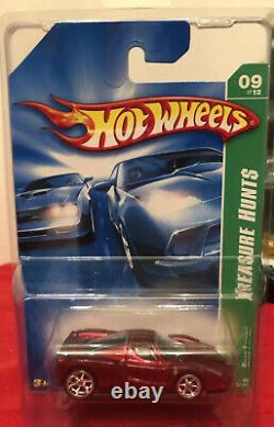 Hot Wheels 2007 Super Treasure Hunt Enzo Ferrari Spectraflame Red withred seats