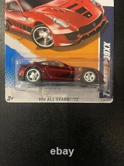 Hot Wheels 2012 SUPER Treasure Hunt Ferrari 599XX REAL RIDERS RARE NEW UNOPENED
