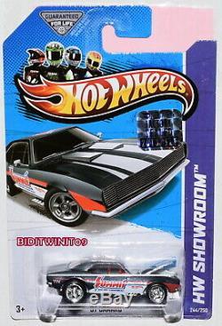 Hot Wheels 2013 Hw Showroom Super Treasure Hunt'67 Camaro Factory Sealed
