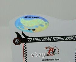 Hot Wheels 2013 RLC'72 Ford Gran Torino Sport #2316/3500