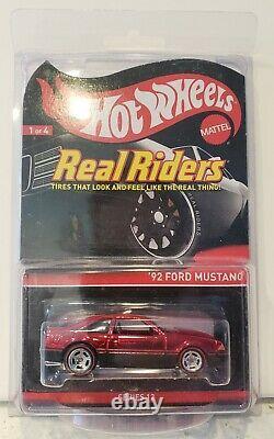 Hot Wheels 2013 RLC Real Riders 92 Ford Mustang 2585/3500