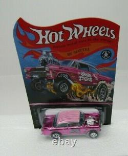 Hot Wheels 2014 RLC'55 Chevy Bel Air Gasser Candy Striper #78/4000