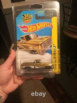 Hot Wheels 2014 SUPER TREASURE HUNT 83 Chevy Silverado rare