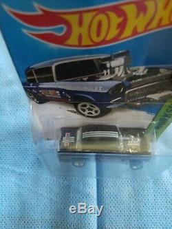 Hot Wheels 2014 SUPER Treasure Hunt'55 Chevy Bel-Air Gasser Protecto
