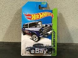 Hot Wheels 2014 Super Treasure Hunt 55 Chevy Bel Air Gasser