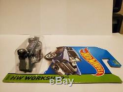 Hot Wheels 2014 Super Treasure Hunt 55 Chevy Bel Air Gasser in Protector