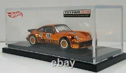 Hot Wheels 2016 Toy Fair Gold Porsche 934 Turbo RSR Authentic Mint Condition