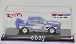 Hot Wheels 2017 Toy Fair 1973 73 BMW 3.0 CSL Employee Vendor Only Mega Rare