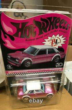 Hot Wheels 2018 Rlc Exclusive Collectors Convention Pink Party Car 71 Datsun 510