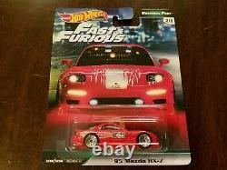 Hot Wheels 2019 Premium Original Fast & Furious Complete Set (Lot of 5) NEW
