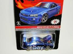 Hot Wheels 2019 RLC Exclusive Nissan Skyline GT-R (BNR34) Blue 9094/12500