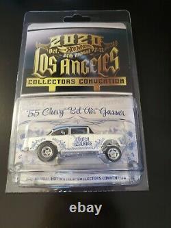 Hot Wheels 2020 LA 34th Convention'55 Chevy Bel Air Gasser Dinner Car