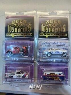 Hot Wheels 2020 La Convention 4 Car Set Willy Nissan Gasser Vw Bus Finale Dinner