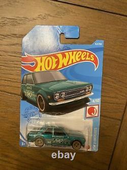 Hot Wheels 2021 71 Datsun 510 Super Treasure Hunt FAST FREE SHIPPING