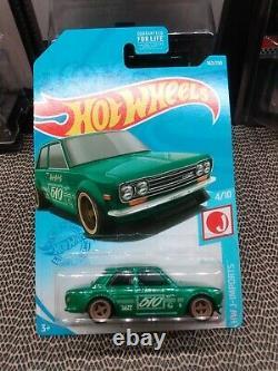 Hot Wheels 2021 Super Treasure Hunt 71 Datsun 510