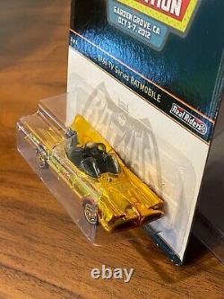 Hot Wheels 26th 2012 Convention 1966 TV Series Batmobile GOLD ULTRA LOW #47/1100