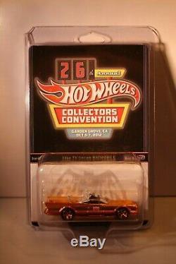 Hot Wheels 26th Annual Convention Gold TV Series Batmobile
