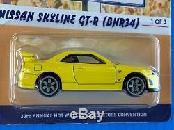 Hot Wheels 33rd Annual Collectors Convention Nissan Skyline Lower Number