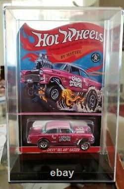 Hot Wheels'55 Chevy Candy Striper #0389/4000