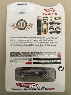 Hot Wheels 67 Camaro Japan Convention LOW NUMBER #45 FREE SHIPPING FULLY INSURED