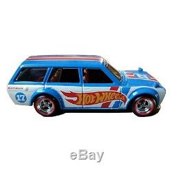 Hot Wheels'71 Datsun Bluebird 510 Wagon 2017 Brazil Convention 164 BRAND NEW