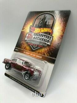 Hot Wheels! 7th Annual Collectors Nationals Wicked Gasser 55 Chevy Bel Air NIBP