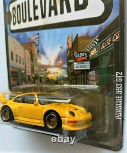 Hot Wheels Boulevard Porsche 993 Gt-2 Super Treasure Hunt+ Factory Zamac 993 Htf
