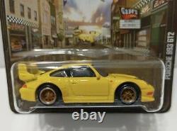 Hot Wheels Boulevard Series Porsche 993 GT2 Real Riders Yellow Rare VHTF 164