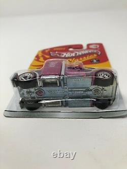 Hot Wheels Classics Series 5 Pink Convoy Custom Real Riders