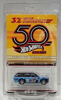 Hot Wheels Datsun 510 Wagon 2018 32nd Annual Collector's Convention Car 6000