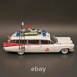 Hot Wheels Elite 118 Cadillac Ghostbusters Ecto 1 DieCast Car Model Metal toy