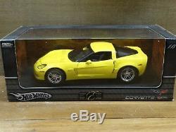 Hot Wheels Elite 2006 Chevy Corvette Z06 118 Scale Diecast Model Limited Car